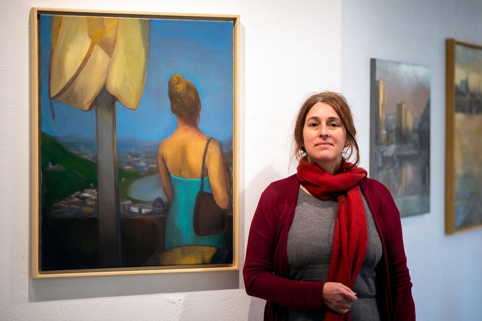 Neue Ausstellung in der Galerie Budissin: Die Künstlerin Gabi Keil kommt mit ihren Landschaften in Öl nach Bautzen. Ihre Werke werfen einen Blick auf das unaufgeregte Alltägliche.