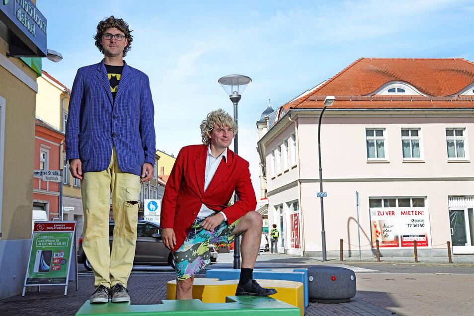 """""""Zärtlichkeiten mit Freunden"""" alias Christoph Walther und Stefan Schramm gastieren am 8. August auf Schloss Schönfeld."""