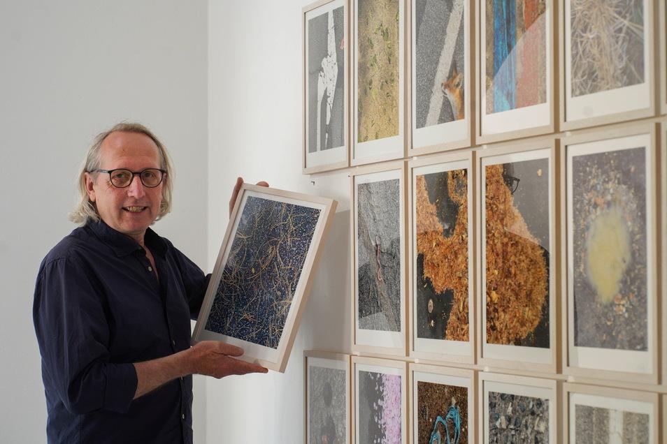 """Matthias Weber stellt derzeit in der Galerie Budissin in Bautzen einige seiner Fotos aus. Die Schau trägt den Titel """"Stilles Land 3""""."""