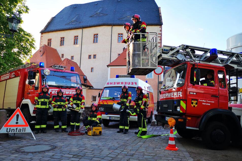 Die Technik der Ortswehr Leisnig können sich Interessierte am Sonntag auf Burg Mildenstein anschauen. Die Kinder dürfen selbst aktiv werden. Erwachsene sollten sich die Sonderausstellung nicht entgehen lassen.