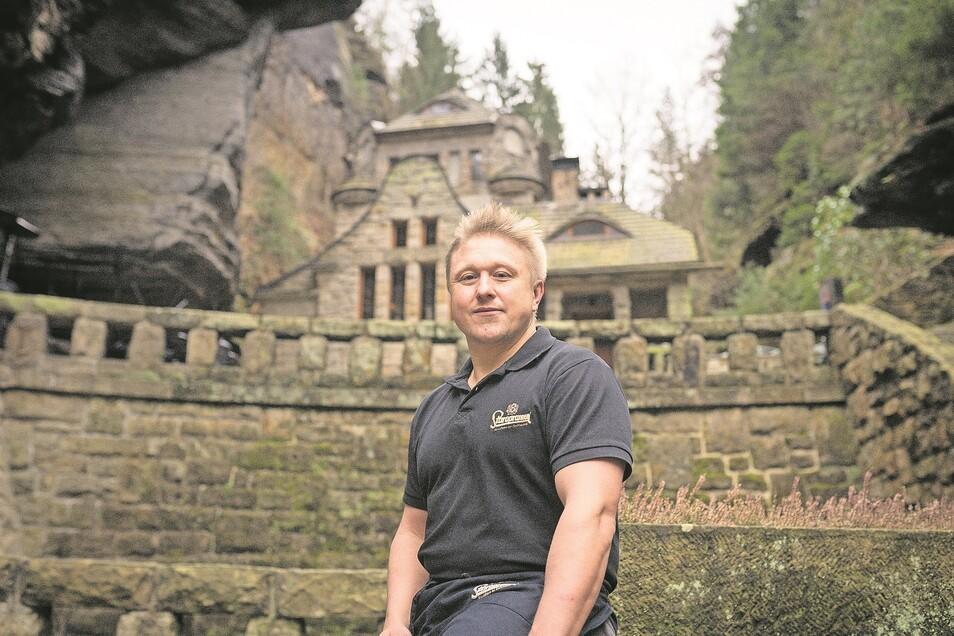 Jan Pecka gibt nach drei Jahren das alte Gaswerk wieder auf. Restaurant und Pension sollen aber der Corona-Schließung mit einem neuen Betreiber wieder öffnen.