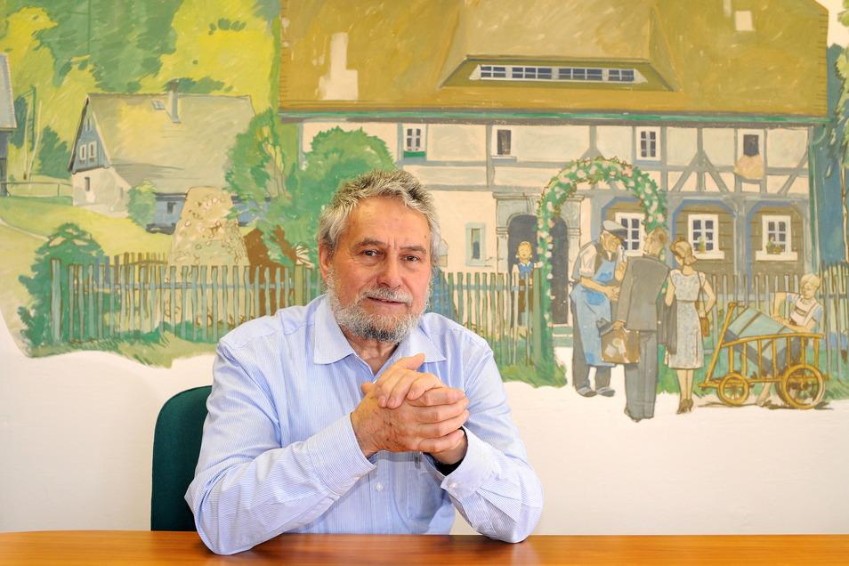 Der leider im März viel zu früh verstorbene ehemalige Jonsdorfer Bürgermeister Christoph Kunze.