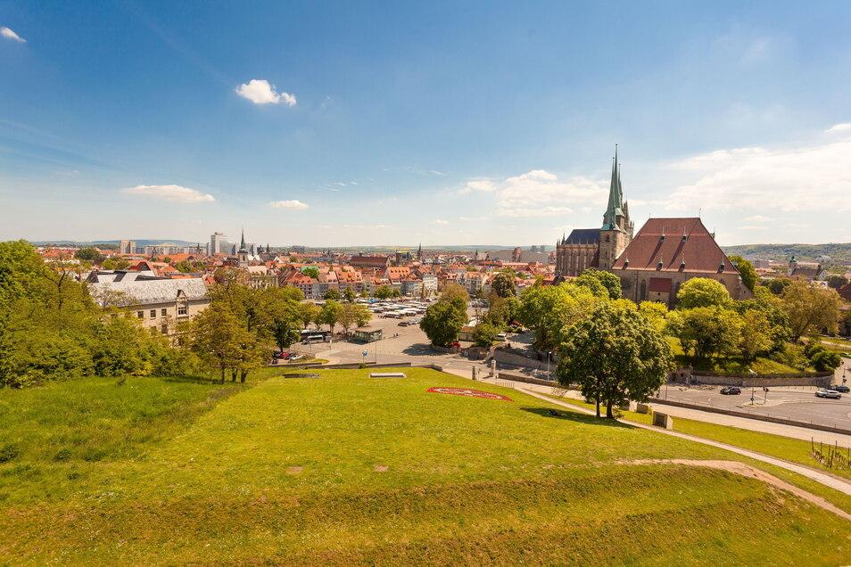 Die Erfurter Altstadt ist einer von vielen Schauplätzen der Bundesgartenschau 2021.