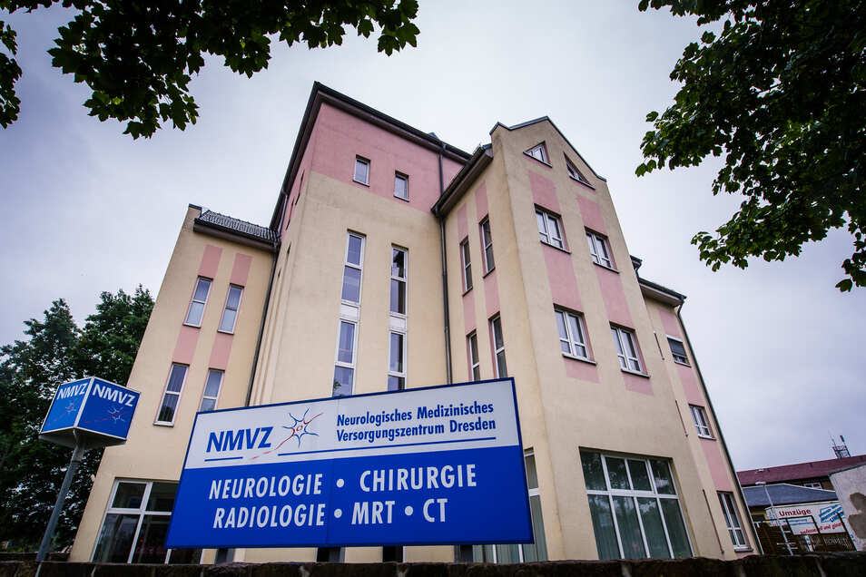 Das Gebäude des Neurologischen Medizinischen Versorgungszentrum Dresden.