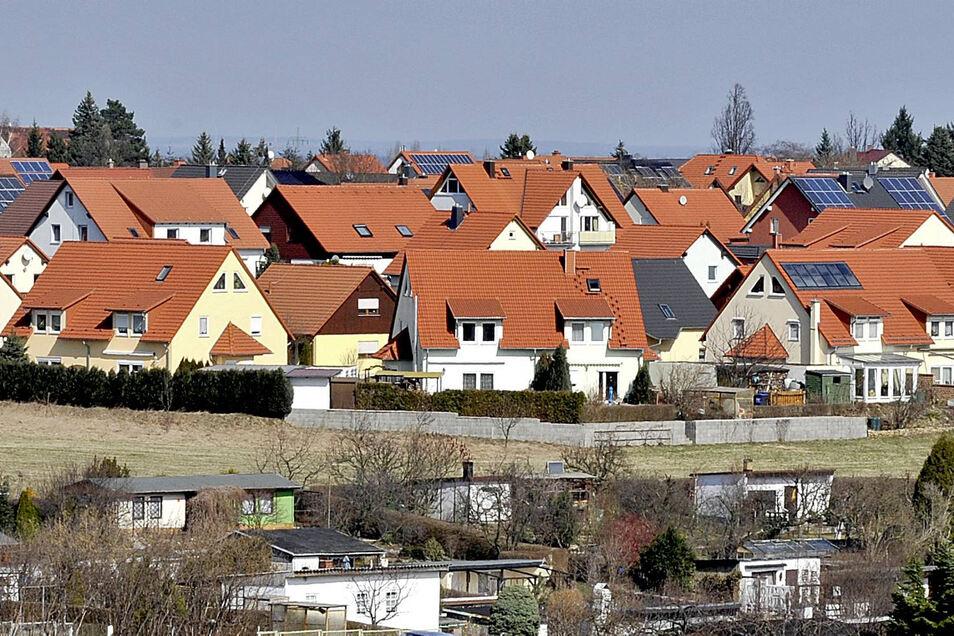 Kesselsdorf, Siedlung.