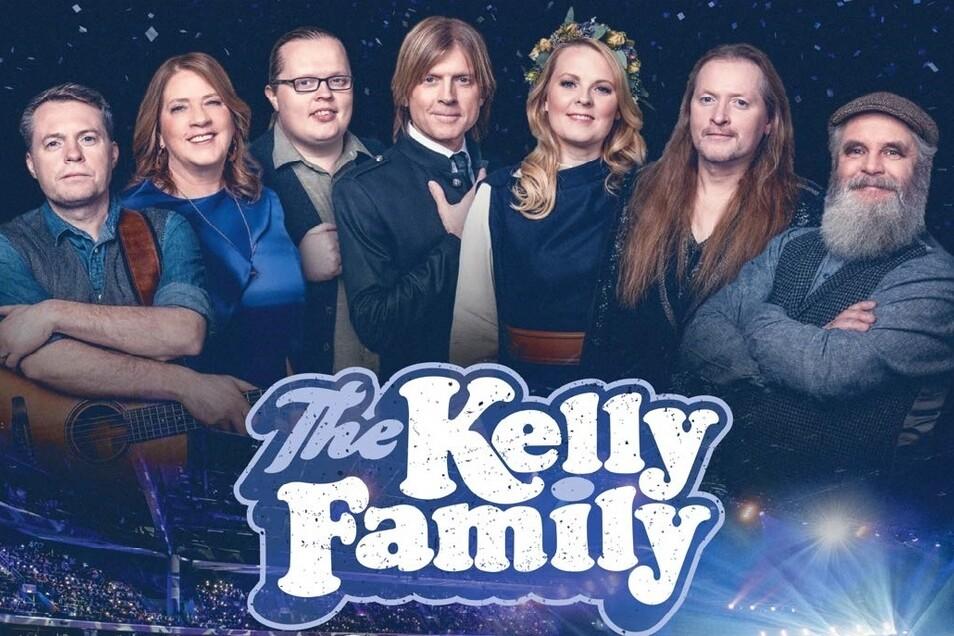 Großes Glück für die Kelly Family, die nun ihren Fans ab Freitag ein neues Live- Erlebnis ins Wohnzimmer zaubert.