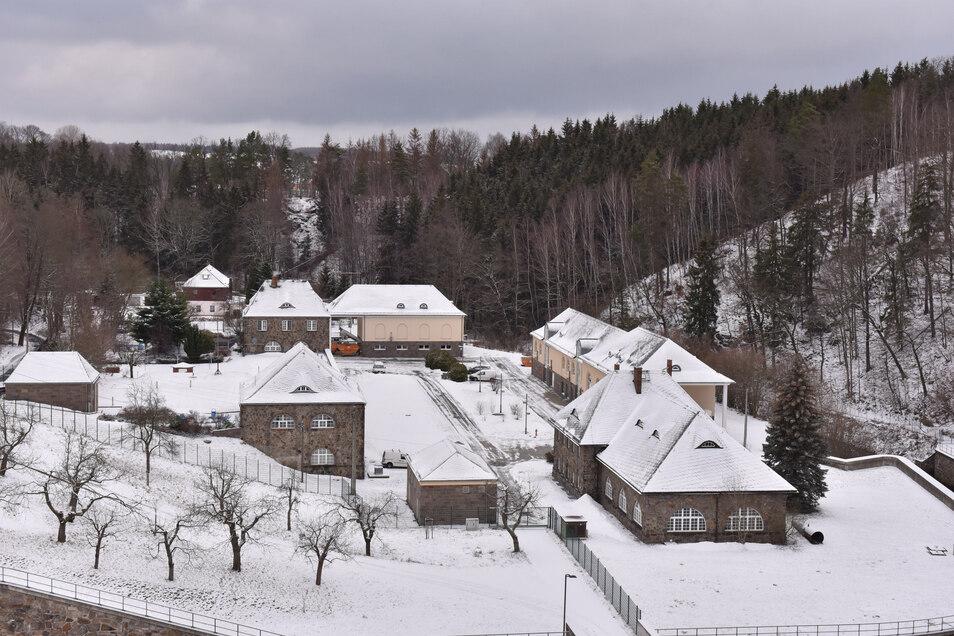 Vom Wasserwerk an der Talsperre Klingenberg aus werden unter anderem die Städte Freital und Dippoldiswalde mit Trinkwasser versorgt.