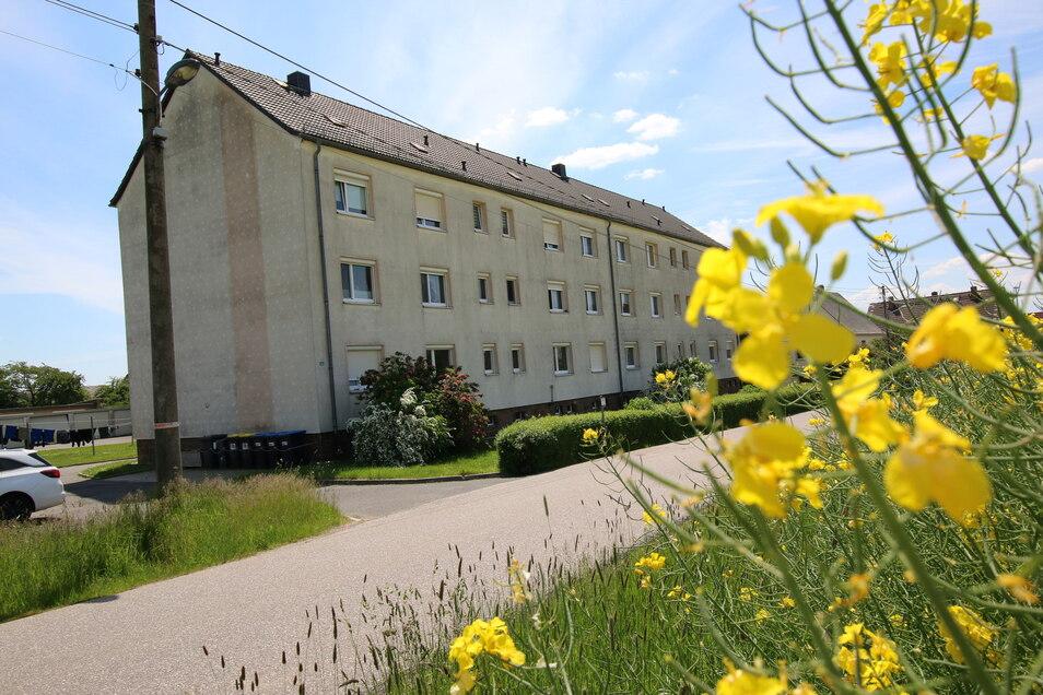 An die beiden Wohnblöcke am Siedlungsweg in Ehrenberg sollen Balkone angebaut werden.