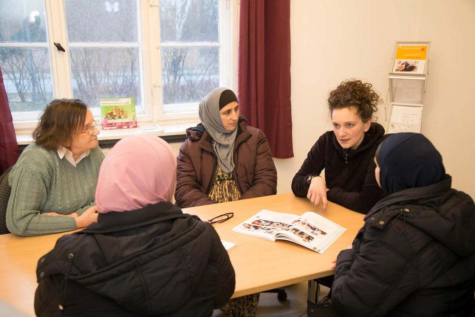 In der Rothenburger Kontaktstelle Asyl in der Friedensstraße war Marika Vetter sieben Jahre lang Ansprechpartnerin für die Flüchtlinge.