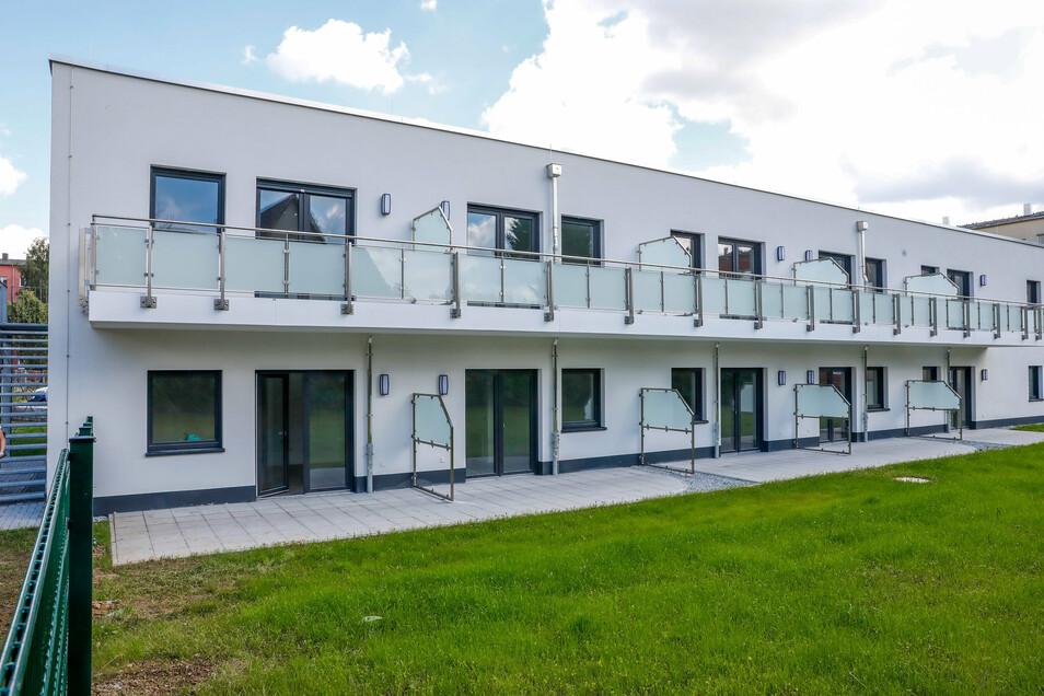 26 seniorengerechte Wohnungen sind mitten im Wohngebiet Oberland in Ebersbach entstanden. Alle haben einen Balkon oder eine Terrasse.