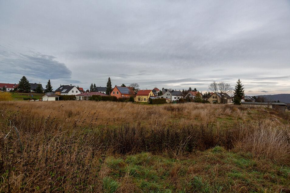 Auf dem alten Sportplatz an der Rosenstraße in Somsdorf sollen Einfamilienhäuser entstehen.