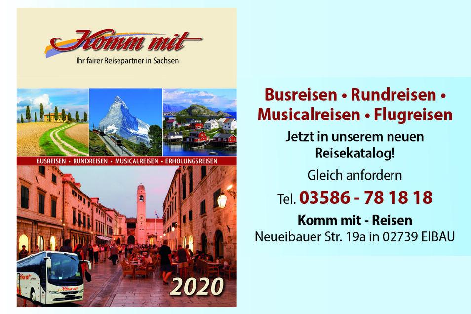 Komm-mit-Reisen,Neueibauer Str. 19A, 02739 Eibau