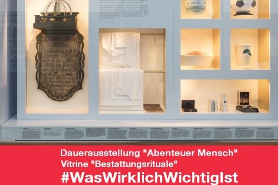 Mit diesem Hashtag hat sich das Deutsche Hygienemuseum am Montag  auf Twitter an der Aktion beteiligt.