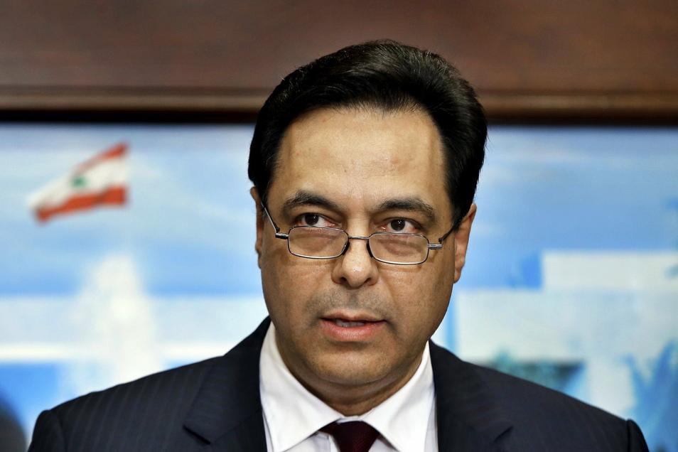 Baabda: Hassan Diab, Ministerpräsident des Libanon, ist wegen der Explosion im Beiruter Hafen angeklagt worden.