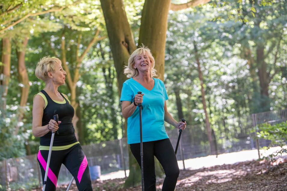 Gut für Laune, Blutdruck und Knochen: Bewegung hält Leib und Seele zusammen.