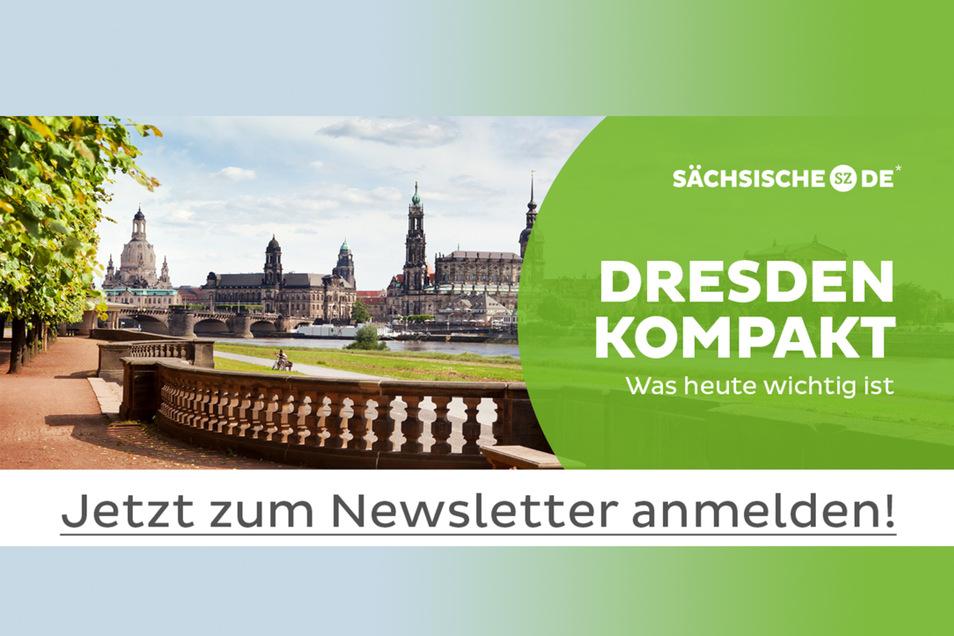 Für alle, die über das Geschehen in der Stadt mitreden wollen: Der kostenlose Dresden-Kompakt-Newsletter der Sächsischen Zeitung.