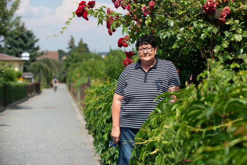 Simone Paul legt Wert auf die Einhaltung der Kleingartenregeln. Nur so könne die Gemeinschaft langfristig erhalten bleiben.