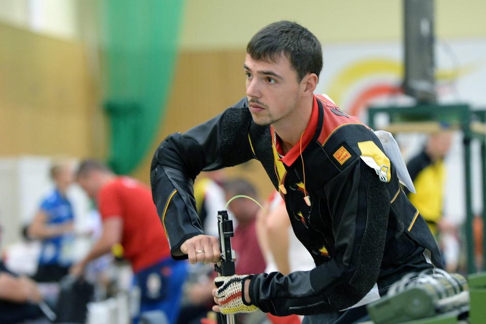 Tim Focken wurde als Bundeswehr-Soldat in Afghanistan verwundet. Jetzt startet er bei den Paralympics.