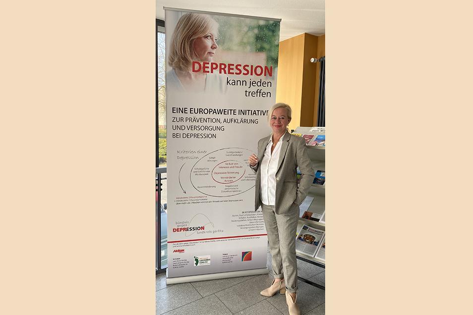 Psychiatriekoordinatorin Steffi Weise weiß um die psychischen Gefahren, die in Krisensituationen stecken - auch jetzt in der Corona-Krise. Sie rät, rechtzeitig Hilfe zu suchen.