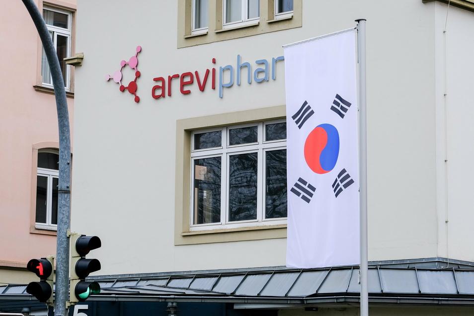 Seit Dezember gibt es eine neue Fahne am Eingang des Werkes an der Meißner Straße - ein Zeichen der Mehrheitseigentümer.