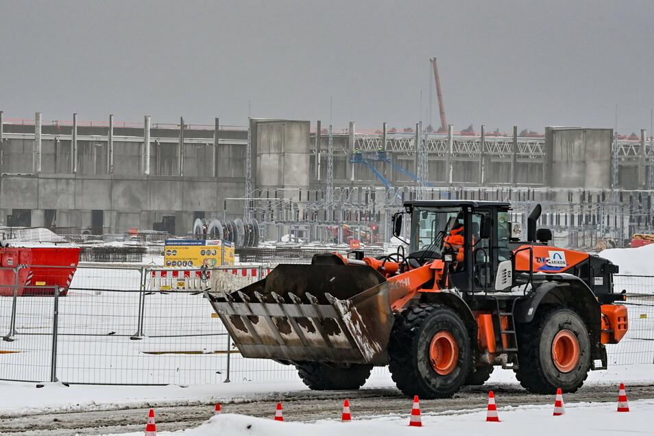 300 Hektar ist das Gelände in Grünheide groß, da bleibt genug Platz für eine Batteriefabrik.