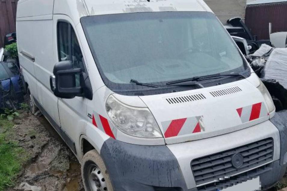 Gestohlen: Renault Trafic