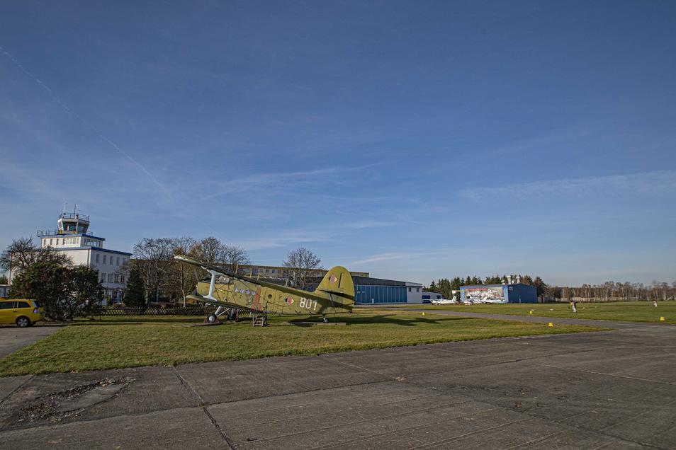 Die Stadt Kamenz will auf dem Verkehrslandeplatz neue Flächen erschließen, damit sich Gewerbe aus dem Luftfahrtbereich ansiedeln kann.