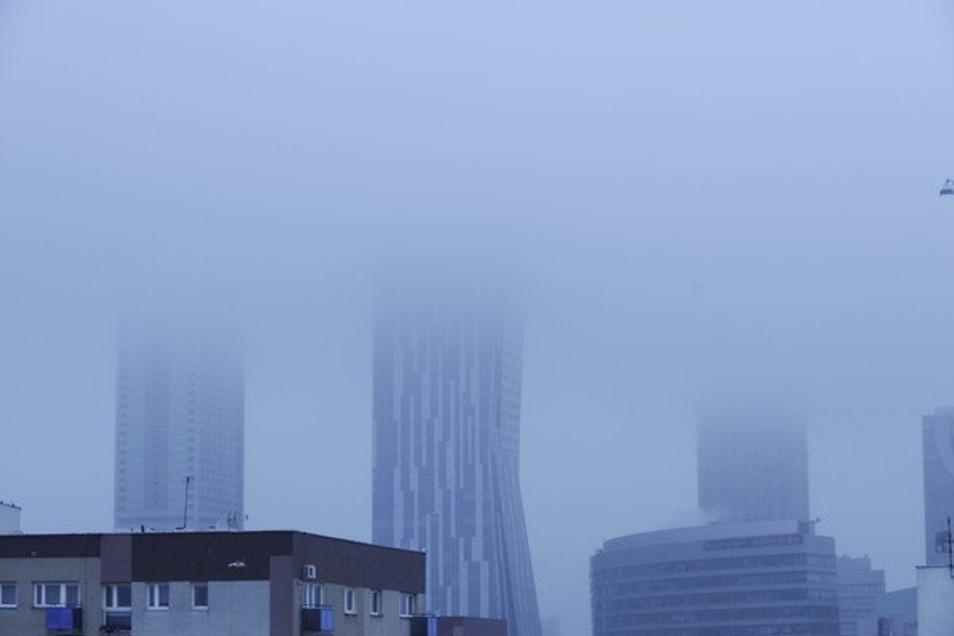 Polen überschreitet immer wieder die Grenzwerte für Feinstaub. Auch Warschau ist deshalb immer wieder von Smog betroffen.