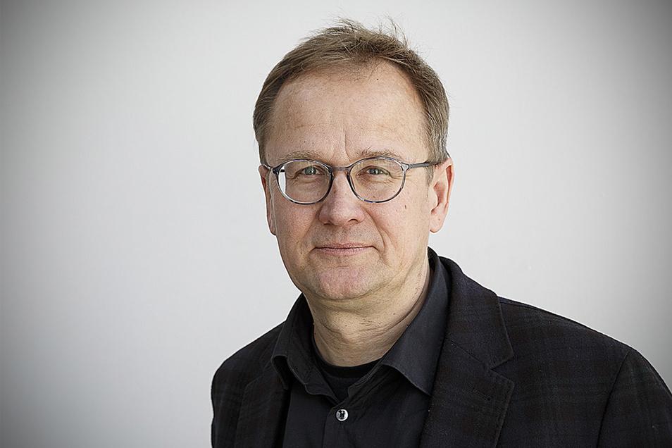 Frank Seibel leitet den Verein Meetingpoint Music Messiaen Görlitz/Zgorzelec, der ein potenzieller Partner des neues Festivals ist.