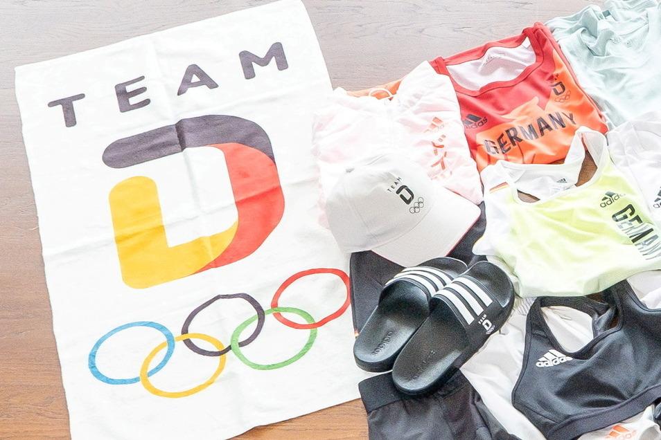 """Das Handtuch als Erkennungsmerkmal: Die Fußball-Nationalelf vermarktet sich seit Jahren als """"Die Mannschaft"""", die Olympioniken inzwischen als """"Team D""""."""