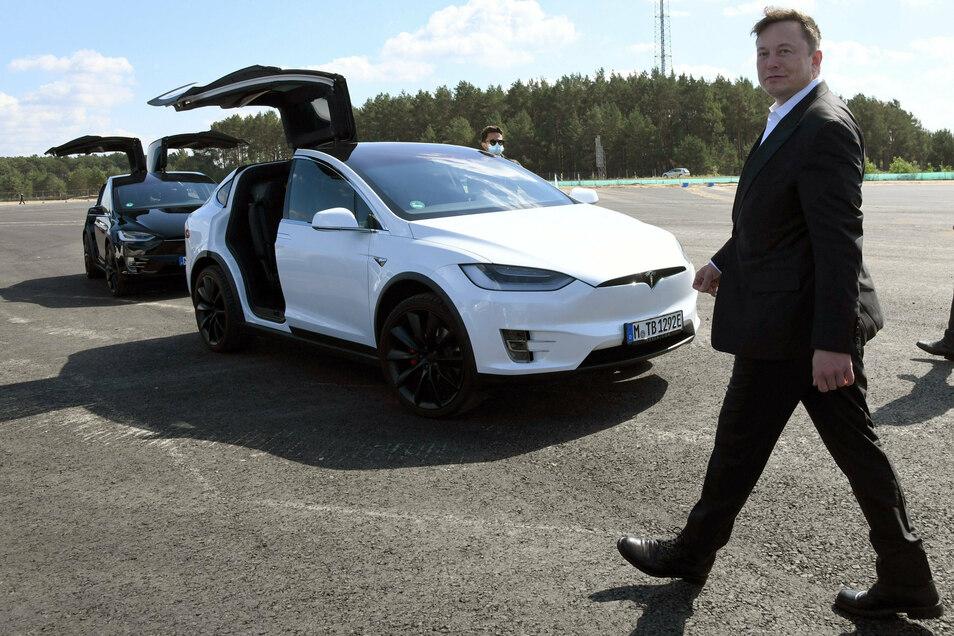 Vergangene Woche hatte Musk Berlin und die Baustelle in Grünheide besucht.