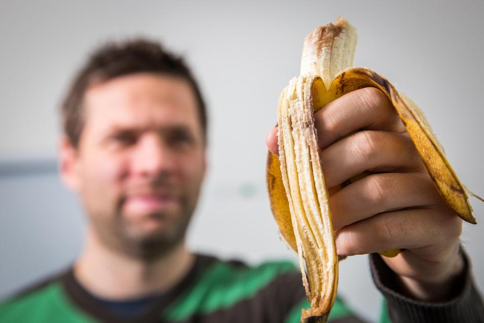 Der Bananenskandal: Dieses braune Etwas landete am Dienstag auf dem Frühstückstisch.