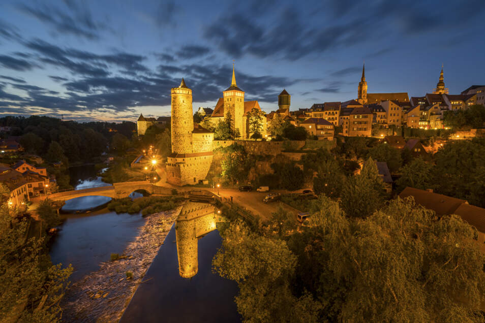 Immer eine Reise wert: Bautzen mit seiner historischen Altstadt.