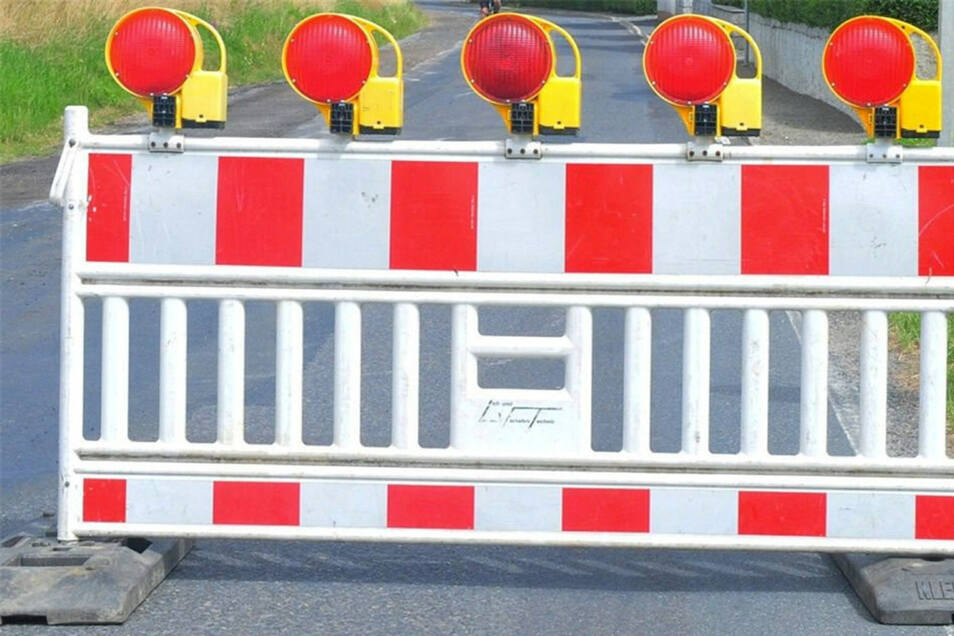 Die Zufahrt zur Autobahn in Pirna in Richtung Prag ist ab 23. Oktober gesperrt.