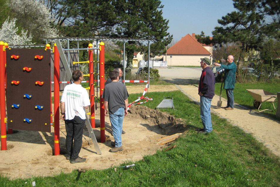 In Pohla ist ein neuer Spielplatz entstanden.