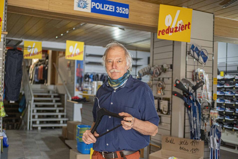 Werner Bubnick gibt sein Sportgeschäft in Kamenz auf. Der Eigentümer geht neue Wege.