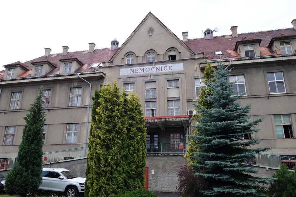 Die Klinik in Rumburk gehört jetzt dem Bezirk Ústí.