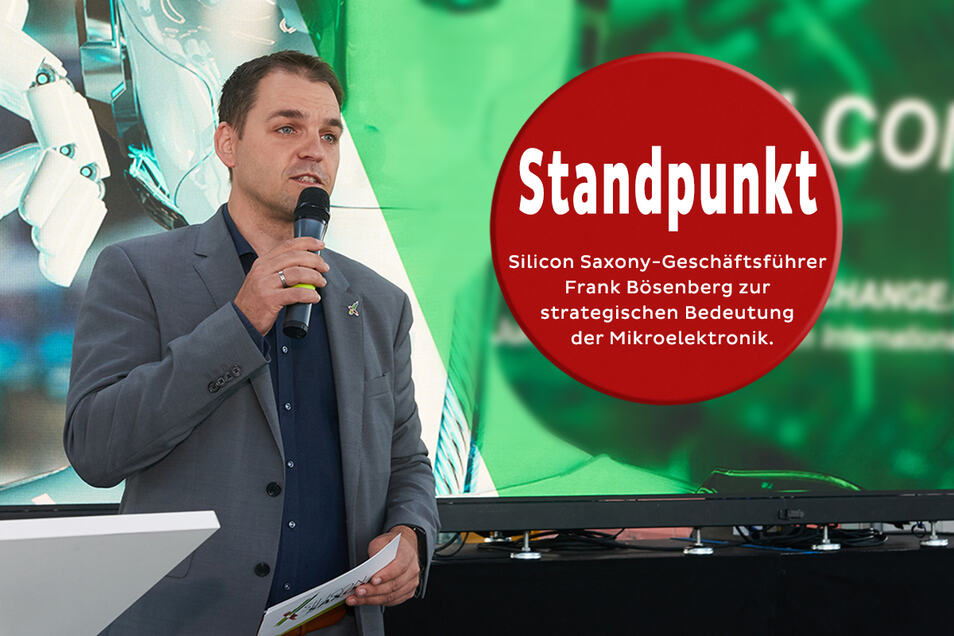 Frank Bösenberg, Geschäftsführer des Branchenverbandes Silicon Saxony e.V.