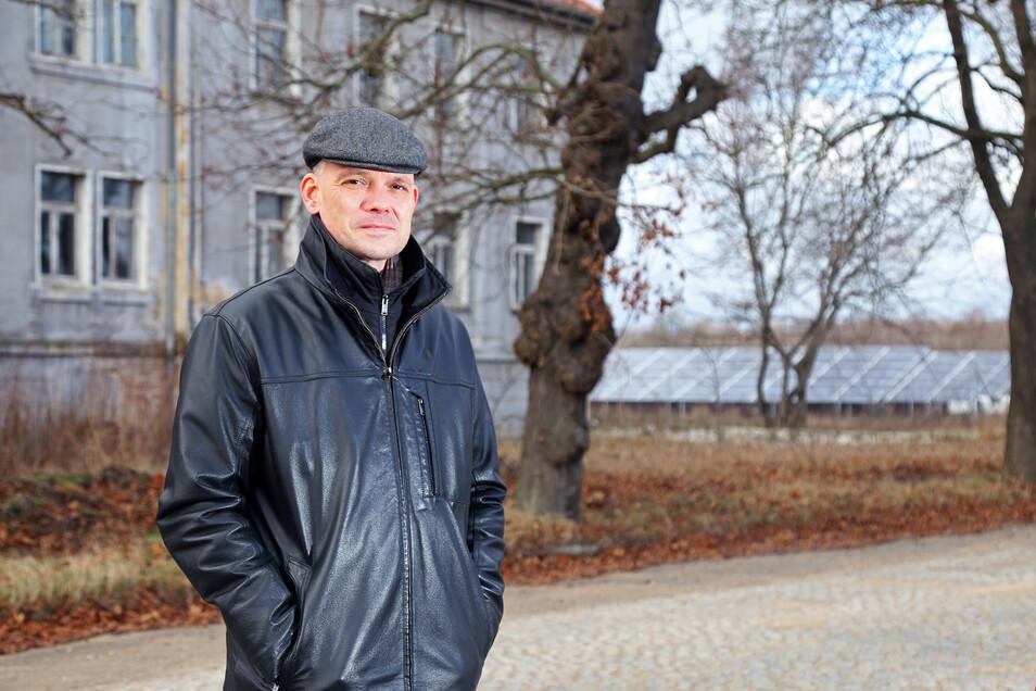 Ralf Hänsel (parteilos) war 2019 als Zeithainer Bürgermeister wiedergewählt worden. Jetzt sitzt er im Krisenstab des Landkreises - und ist zeitgleich als Kandidat für die CDU bei der Landratswahl im Gespräch.