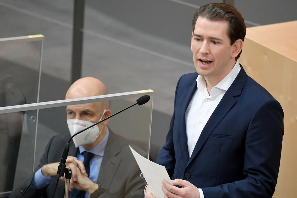 Österreichs Bundeskanzler Sebastian Kurz hat sich für einen europäischen Impfpass nach dem Vorbild Israels ausgesprochen.
