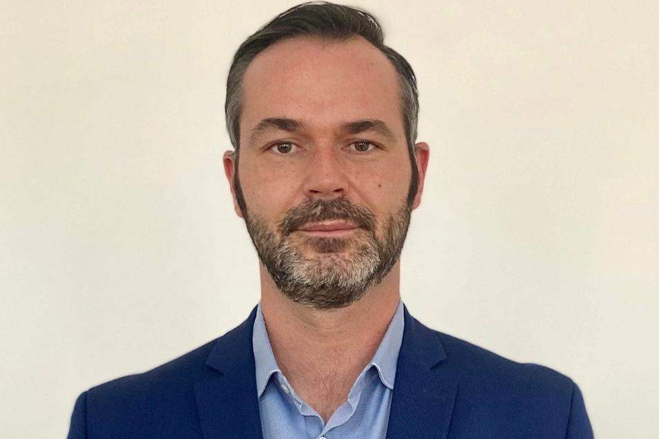 Der Unternehmer Franco Lehmann ist neuer Chef des FDP-Ortsverbandes Döbeln und Umgebung.