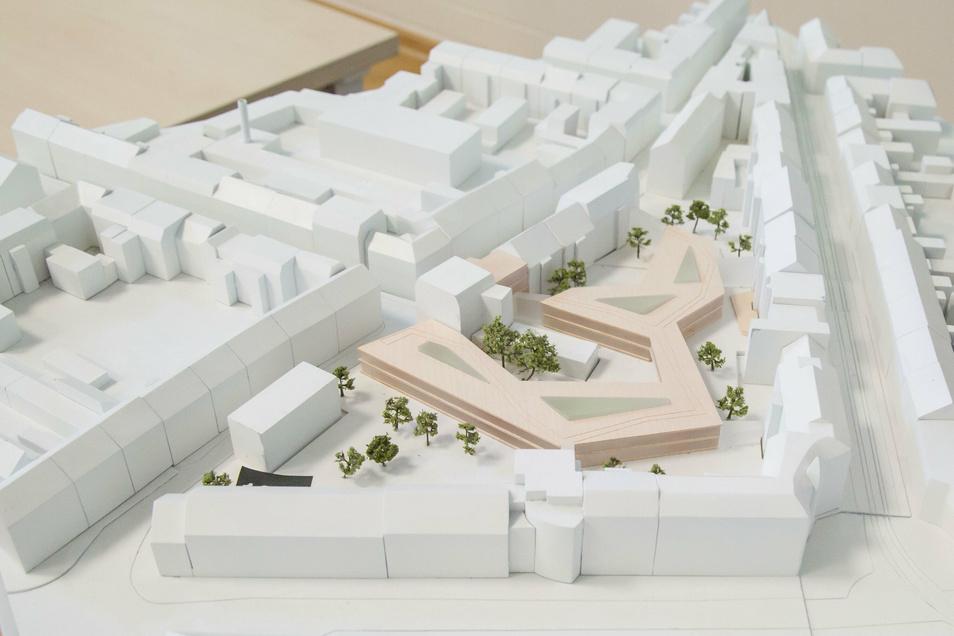 So sieht der Plan für das erweiterte Landratsamt aus.