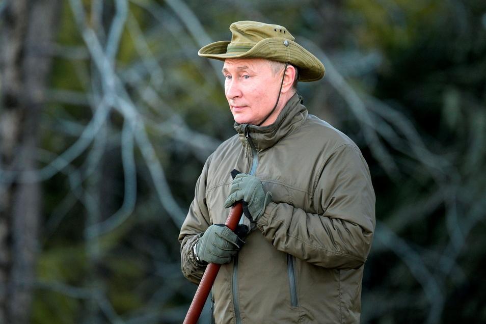 Putin denkt nach.