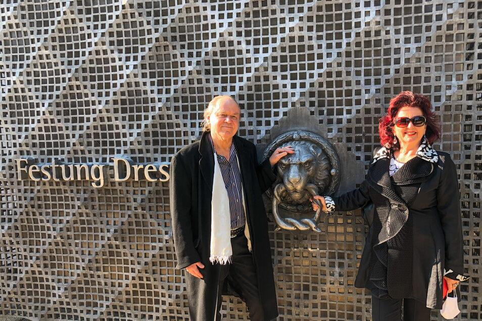Hermjo und Viola Klein besuchten die Ausstellung in der Festung Dresden.