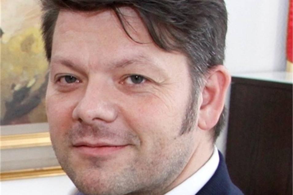Thomas Zenker ist Oberbürgermeister der Stadt Zittau.