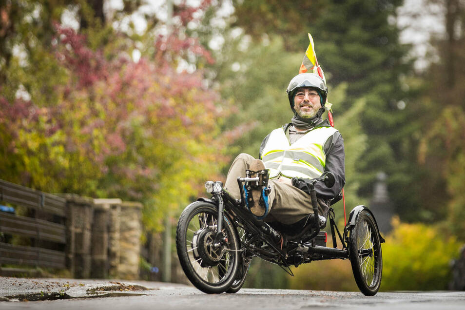 Um sein therapeutisches Liegerad hat Colin Geipel fünf Jahre lang gekämpft und sich auch dabei nicht unterkriegen lassen. Schließlich sah seine Krankenkasse zumindest teilweise ein, dass ein Rollstuhl kein Ersatz ist.