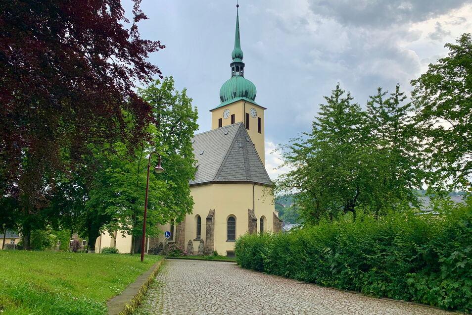Peter-Pauls-Kirche in Sebnitz: Neben Gottesdienstes vor Ort setzt die Gemeinde auf Online-Formate.