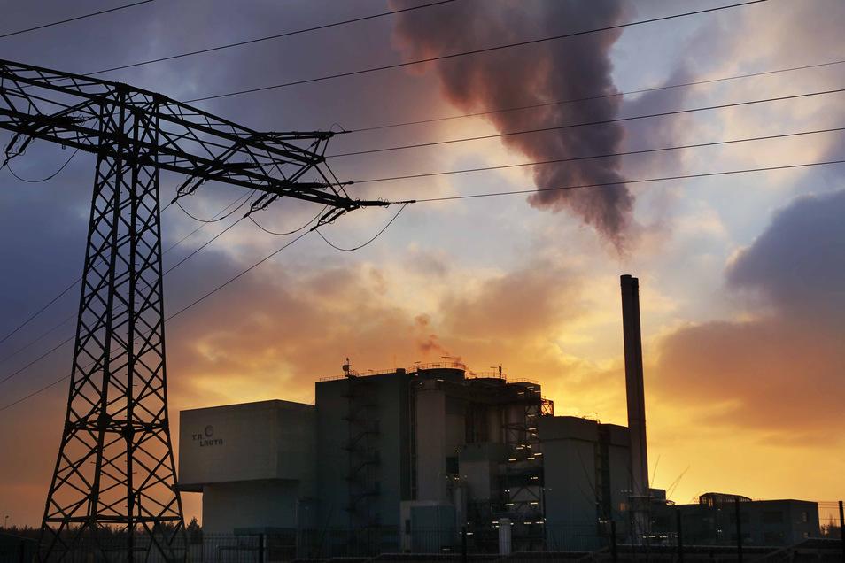 Die Verbrennungsanlage in Lauta.