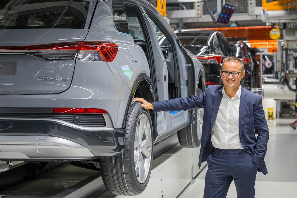 """Audi-Elektro-Chef Fermín Soneira Santos: """"Wir sind nach Zwickau gekommen, um zu bleiben."""""""