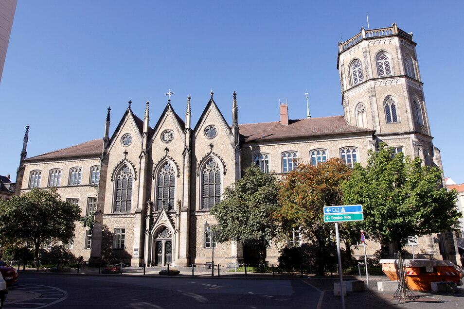 Das Gymnasium Augustum am Görlitzer Klosterplatz.